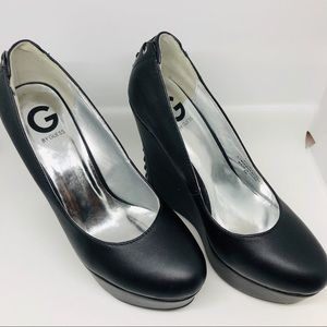 Guess Wedge Heels - sz 8